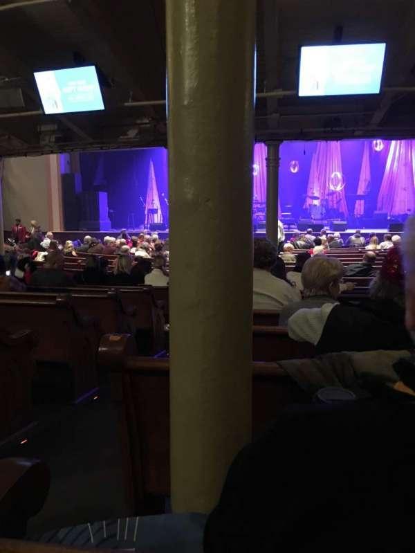 Ryman Auditorium, secção: MF-4, fila: U, lugar: 11