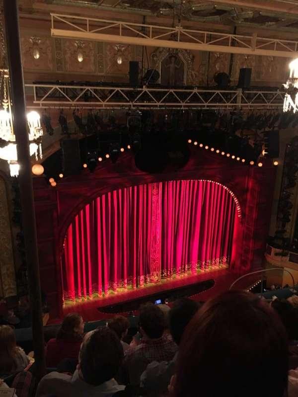 Shubert Theatre, secção: Mezzanine L, fila: F