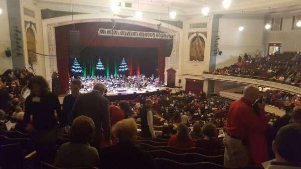 Lowell Memorial Auditorium, secção: Balcony G, fila: M, lugar: 9