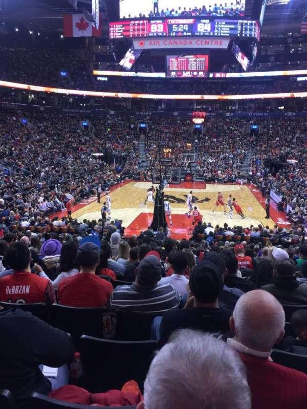 Scotiabank Arena, secção: 102, fila: 17, lugar: 15