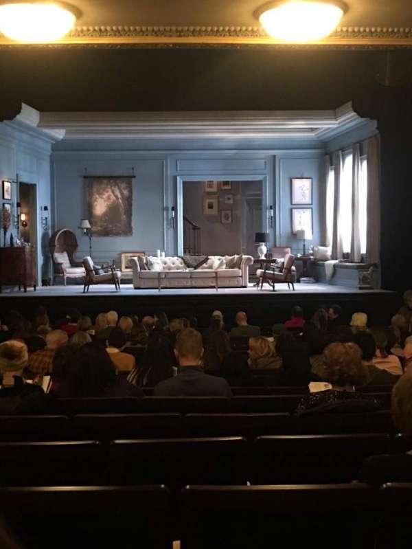 Hudson Theatre, secção: Orchestra C, fila: S, lugar: 110