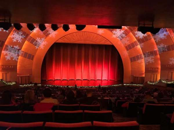 Radio City Music Hall, secção: 1st Mezzanine 5, fila: H, lugar: 502