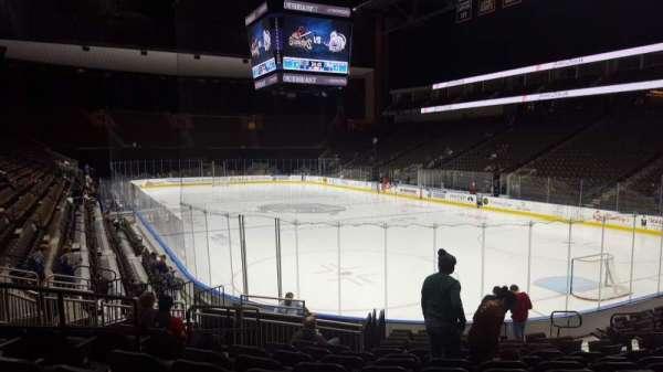 VyStar Veterans Memorial Arena, secção: 110, fila: N, lugar: 12
