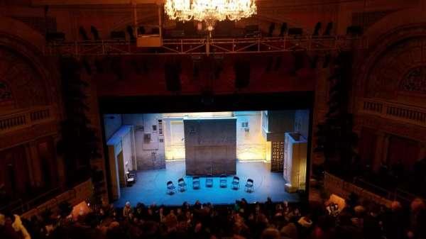 Ethel Barrymore Theatre, secção: Rear Mezzanine C, fila: D, lugar: 107