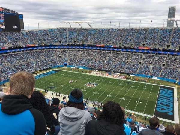 Bank of America Stadium, secção: 538, fila: 20, lugar: 14
