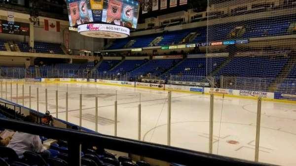 Mohegan Sun Arena at Casey Plaza, secção: 114, fila: H, lugar: 6