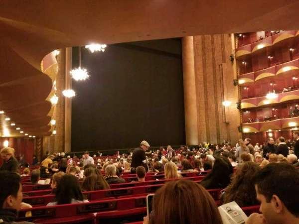 Metropolitan Opera House - Lincoln Center, secção: ORCH, fila: Y, lugar: 31