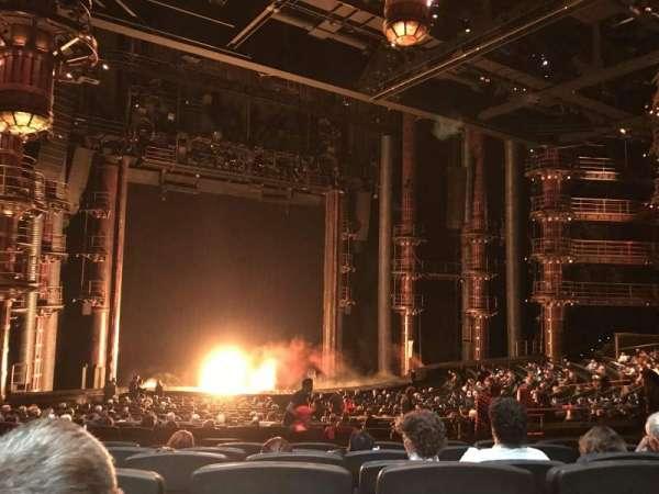 KÀ Theatre - MGM Grand, secção: 201, fila: GG, lugar: 17