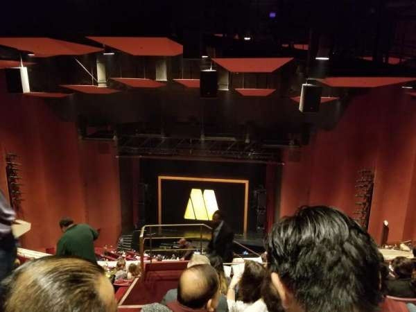 San Diego Civic Theatre, secção: Rear balcony, fila: AA, lugar: 18