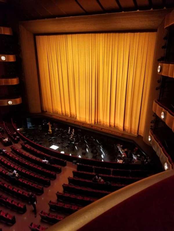 David H. Koch Theater, secção: 3rd ring, fila: AA, lugar: 2