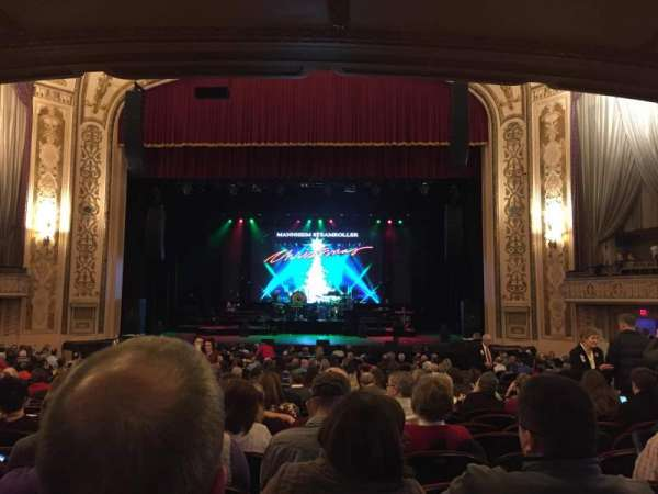 Orpheum Theatre (Omaha), secção: Orchestra, fila: Y, lugar: 116