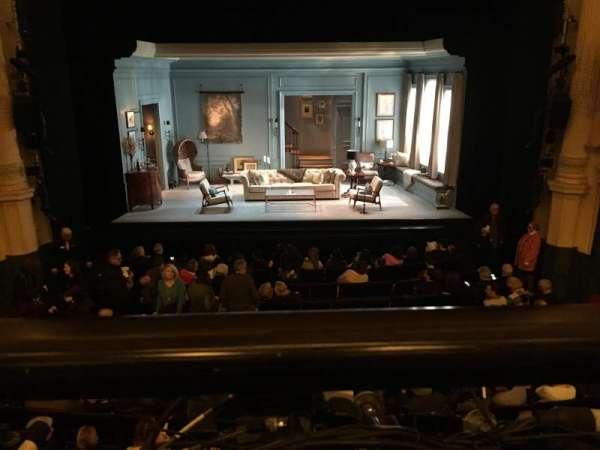 Hudson Theatre, secção: Dress Circle C, fila: A, lugar: 108