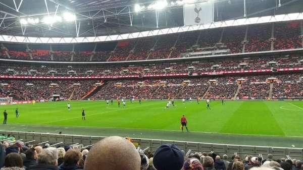 Wembley Stadium, secção: 142, fila: 17, lugar: 256
