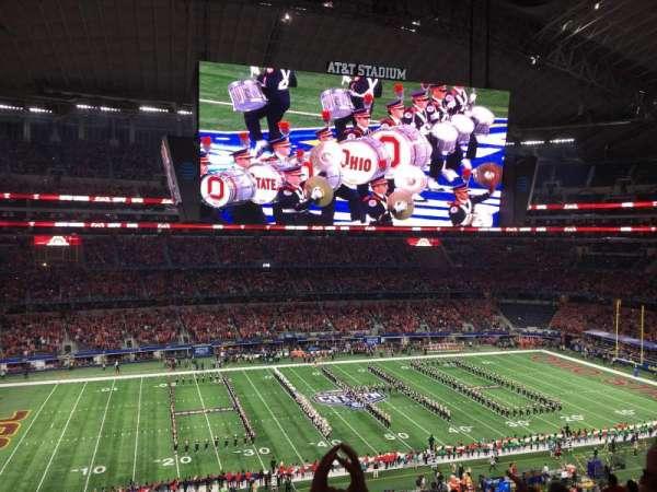 AT&T Stadium, secção: C338, fila: 16, lugar: 6