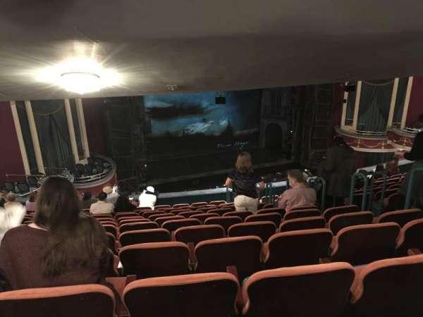 National Theatre (DC), secção: Mezzanine Left, fila: M, lugar: 11