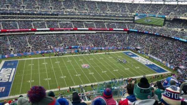 MetLife Stadium, secção: 316, fila: 7, lugar: 4