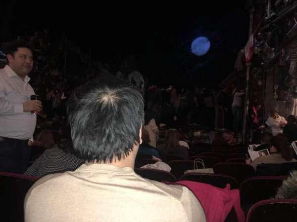 Neil Simon Theatre, secção: orchestra r, fila: L, lugar: 10
