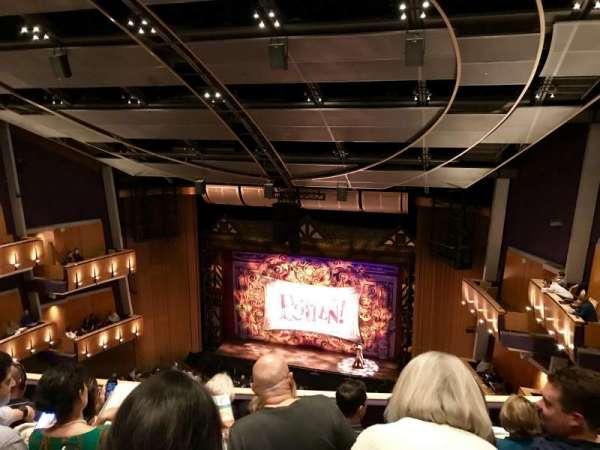 Ahmanson Theatre, secção: Balcony, fila: D, lugar: 11