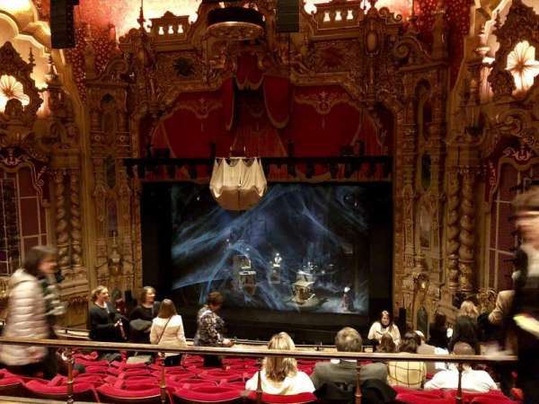 Ohio Theatre (Columbus), secção: Mezzanine B, fila: B, lugar: 6