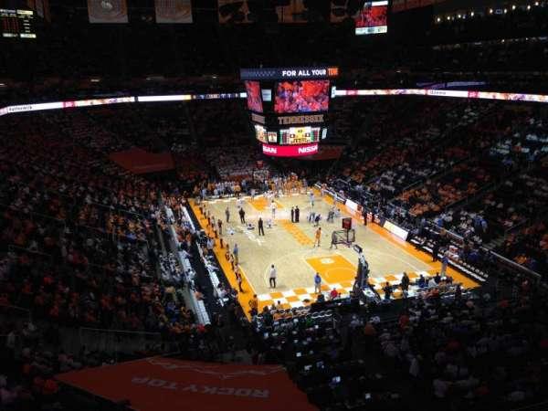 Thompson-Boling Arena, secção: 317, fila: 23, lugar: 2