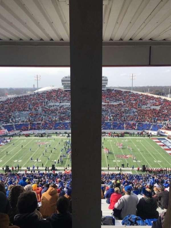 Liberty Bowl Memorial Stadium, secção: 120, fila: 104