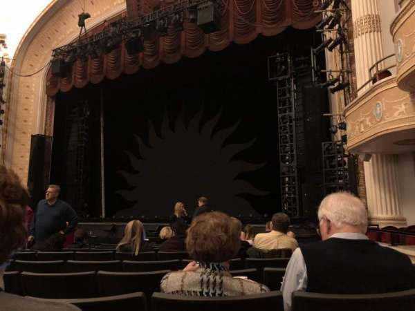 KeyBank State Theatre, secção: DRESSR, fila: Q, lugar: 311
