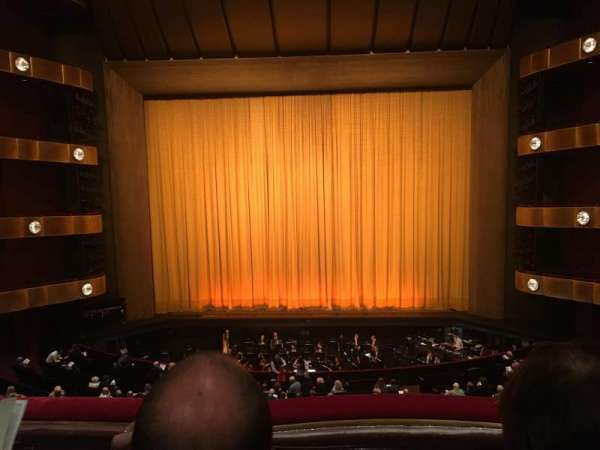 David H. Koch Theater, secção: 2nd ring, fila: B, lugar: 110