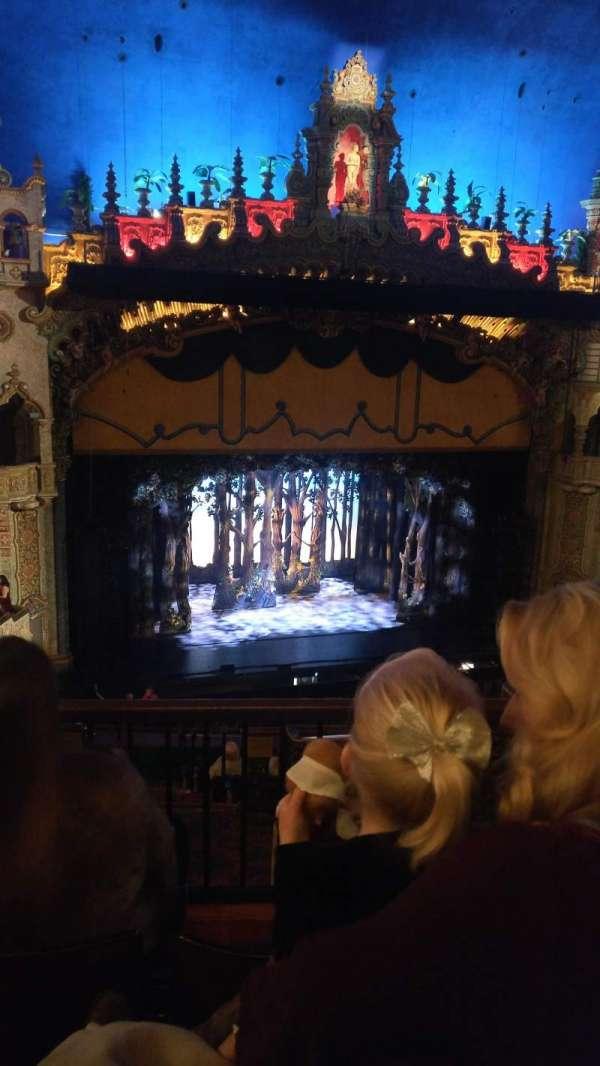 Majestic Theatre - San Antonio, secção: Mezzanine LC, fila: FF, lugar: 9