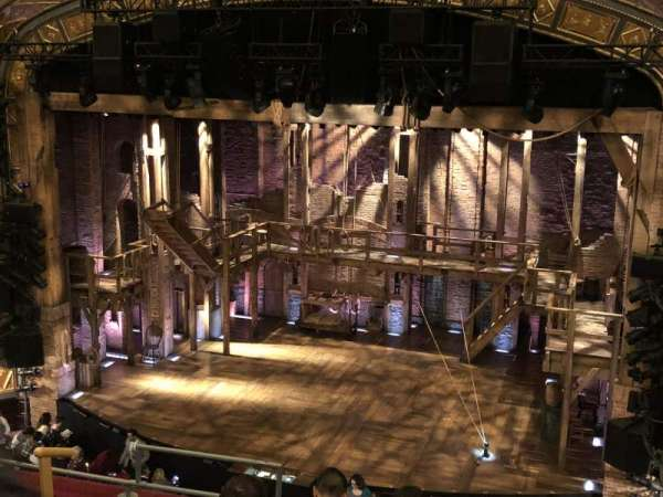 Richard Rodgers Theatre, secção: Front Mezzanine R, fila: f, lugar: 8