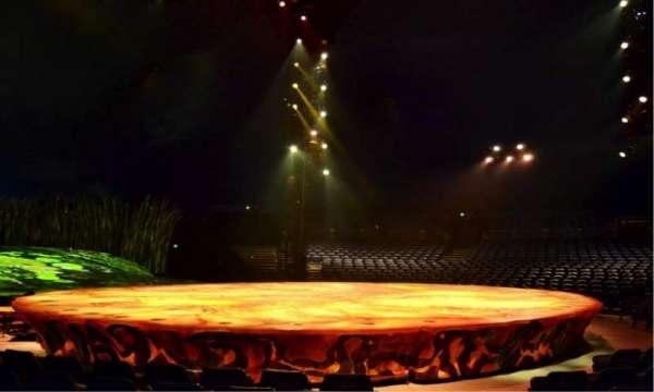 Cirque Du Soleil - Totem, secção: 105, fila: E, lugar: 1