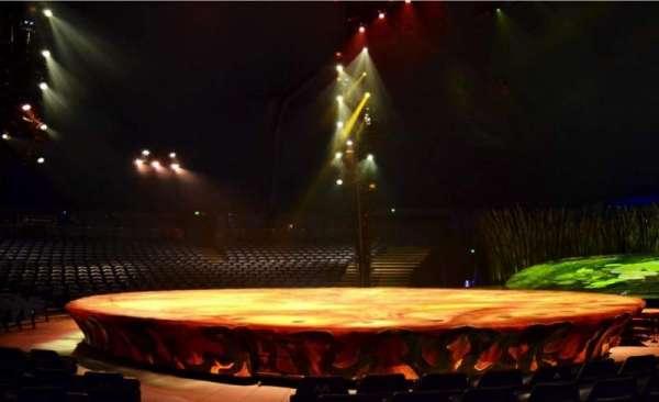 Cirque Du Soleil - Totem, secção: 106, fila: E, lugar: 1