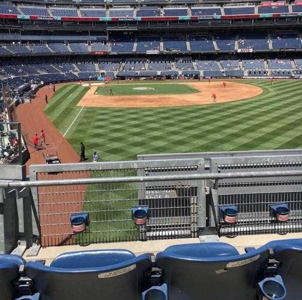 Yankee Stadium, secção: 206, fila: 3, lugar: 1