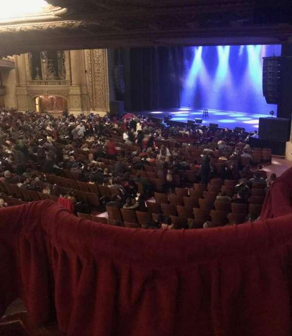 Chicago Theatre, secção: Mezzanine Box E, fila: 1, lugar: 1-2
