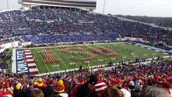 Liberty Bowl Memorial Stadium, secção: 108, fila: 81, lugar: 1,2
