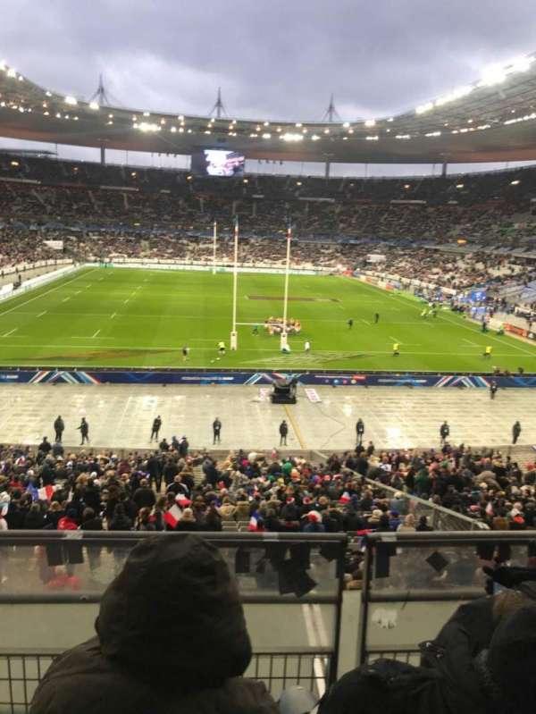 Stade de France, secção: L12, fila: 37, lugar: 25
