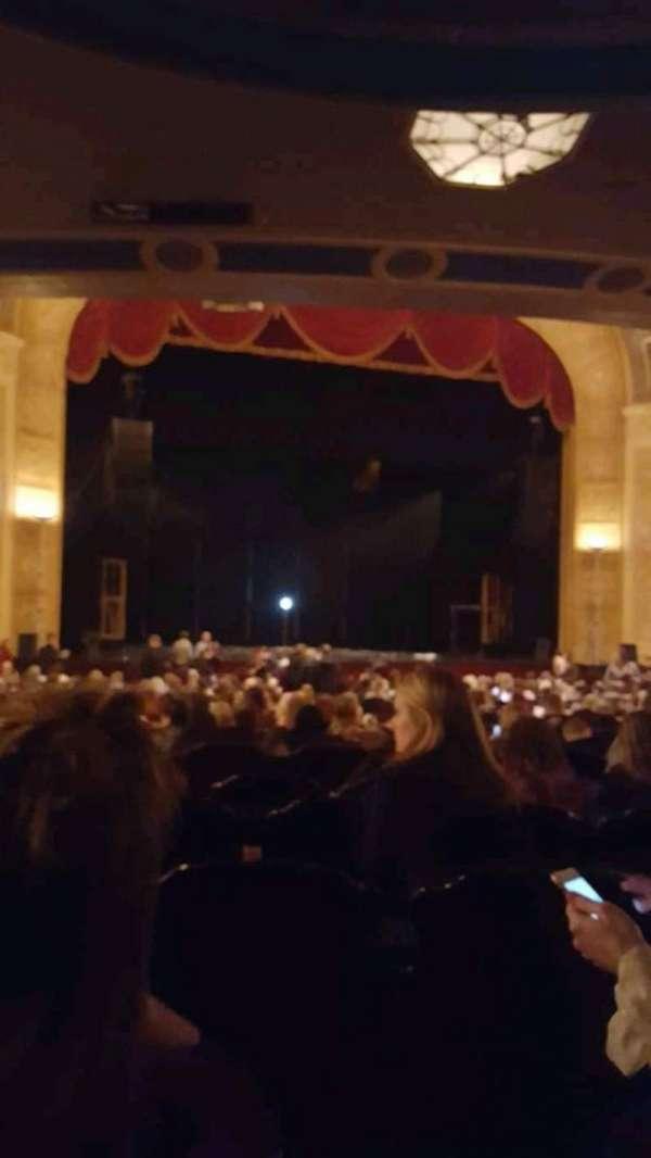 Detroit Opera House, secção: Main Floor 3, fila: Y, lugar: 117