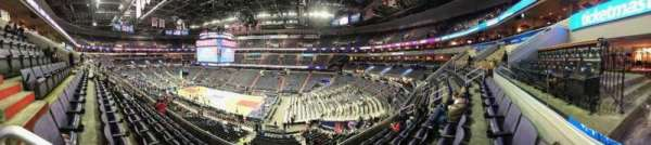 Capital One Arena, secção: 203, fila: F, lugar: 1