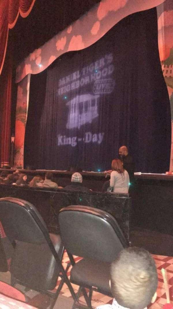 Stifel Theatre, secção: ORCHRT