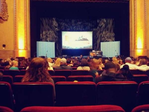 Balboa Theatre, secção: Orch, fila: M, lugar: 115