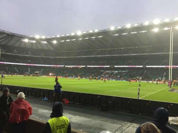Twickenham Stadium, secção: L21, fila: 3, lugar: 93