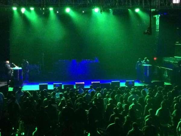 Franklin Music Hall, secção: VIP, fila: Front
