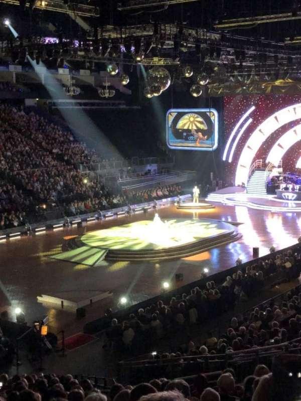 The O2 Arena, secção: 109, fila: Z, lugar: 260