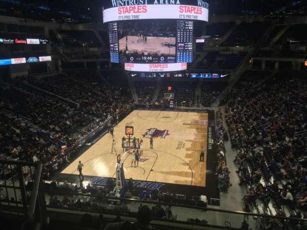 Wintrust Arena, secção: 202, fila: E, lugar: 4