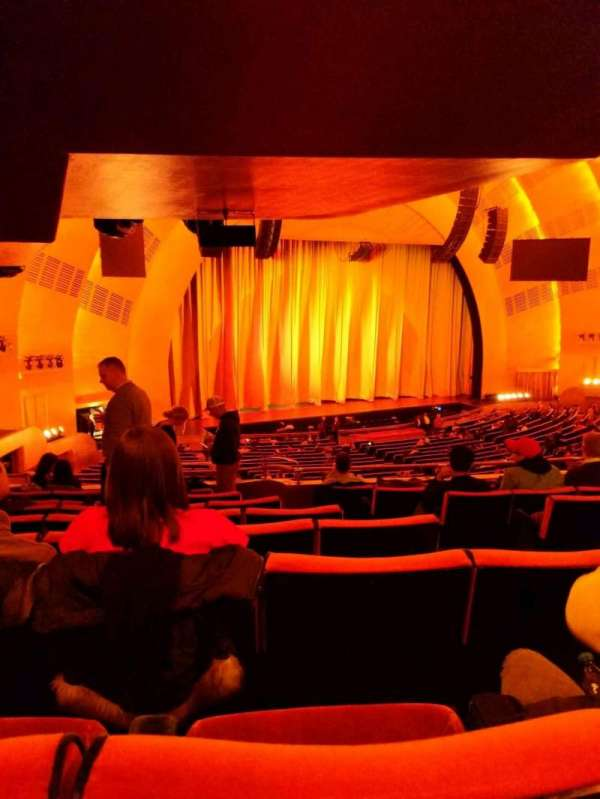 Radio City Music Hall, secção: 1st mezzanine 7, fila: h, lugar: 704