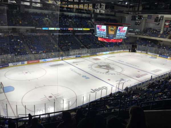 Mohegan Sun Arena at Casey Plaza, secção: 207, fila: F, lugar: 6