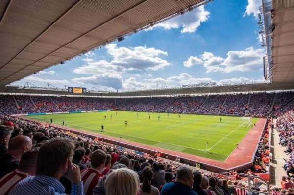 St Mary's Stadium, secção: 2, fila: 25