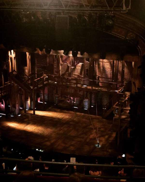 Richard Rodgers Theatre, secção: Rear Mezzanine R, fila: K, lugar: 28
