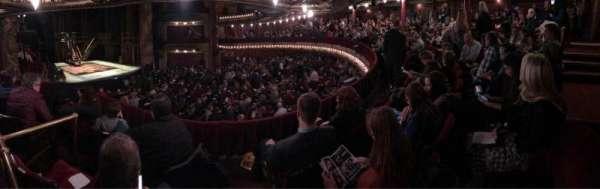 CIBC Theatre, secção: Dress Circle L, fila: C, lugar: 13
