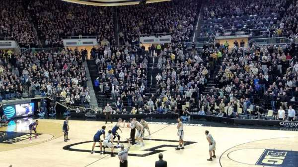 Mackey Arena, secção: 17, fila: 16, lugar: 11