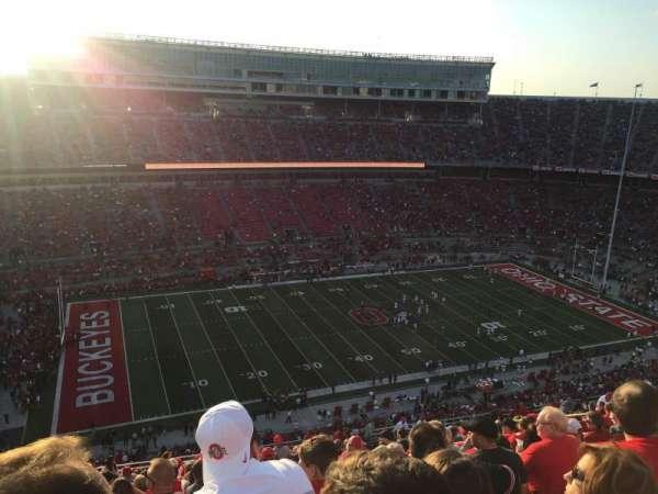 Ohio Stadium, secção: 26C, fila: 34, lugar: 29